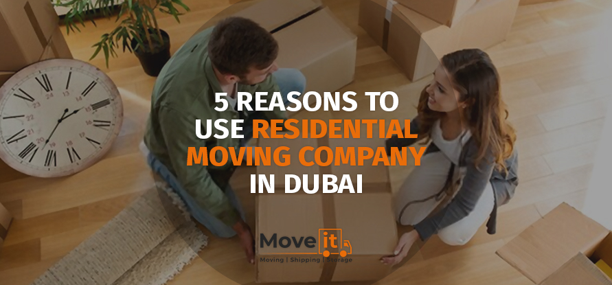 residential moving company in dubai