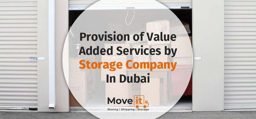value added services by storage company in dubai
